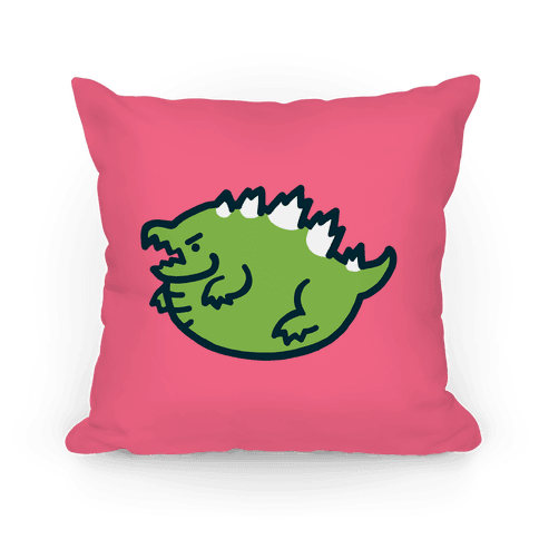 Fat Kaiju Pillow Pillow