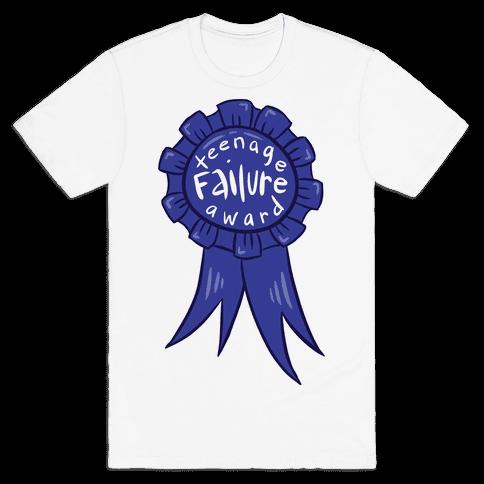 Teenage Failure Award Mens T-Shirt