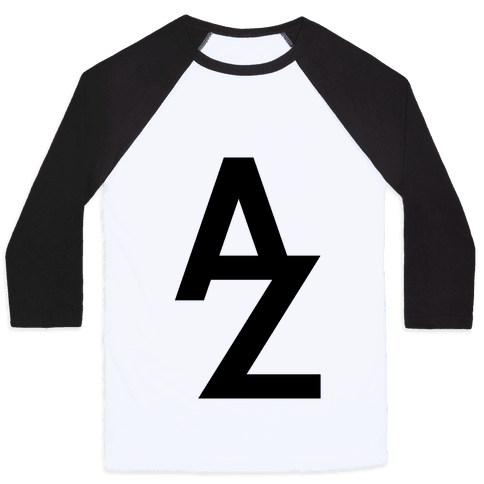 A To Z Baseball Tee
