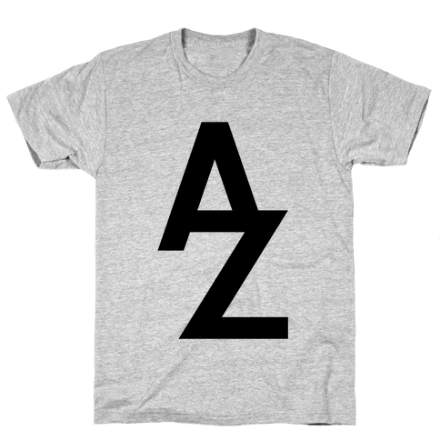 A To Z Mens T-Shirt