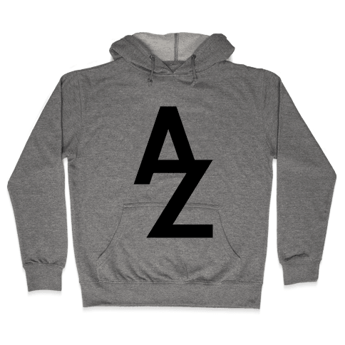 A To Z Hooded Sweatshirt