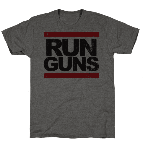 Run Guns (Vintage Shirt)