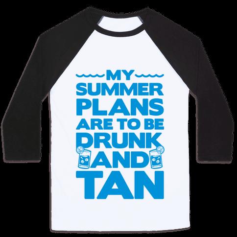 My Summer Plans Baseball Tee