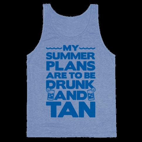 My Summer Plans Tank Top