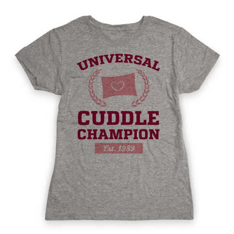 Universal Cuddle Champion Womens T-Shirt