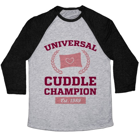 Universal Cuddle Champion Baseball Tee