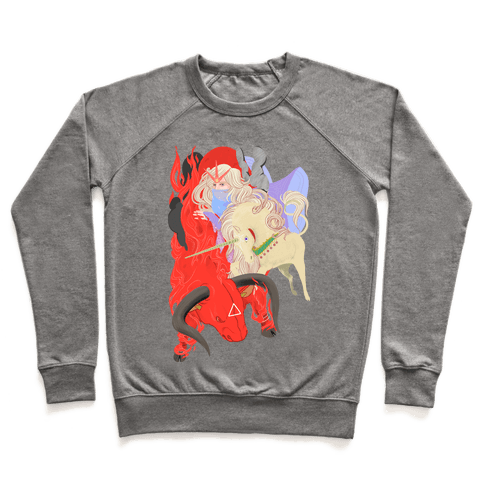 The Last Unicorn and the Red Bull Pullover