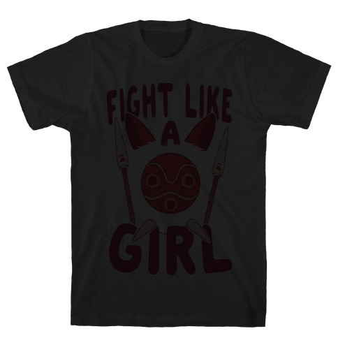 Fight Like A Girl Mens T-Shirt