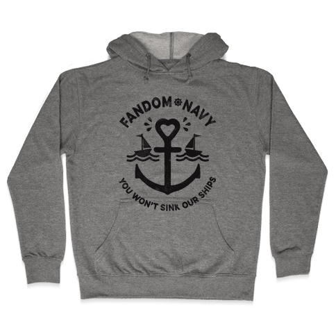 Fandom Navy Hooded Sweatshirt