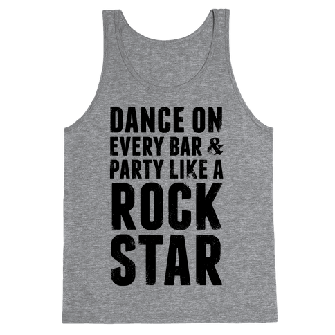 Party Like A Rock Star Tank Top