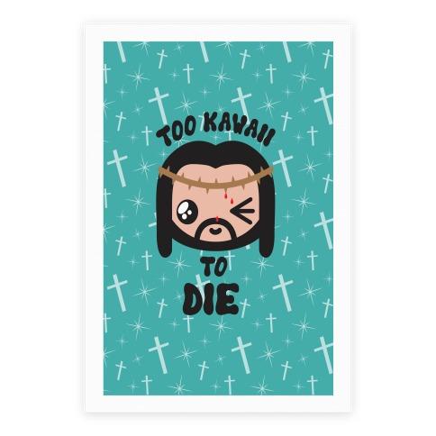 Kawaii Jesus-Kun Poster