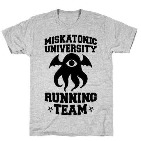Miskatonic University Running Team T-Shirt