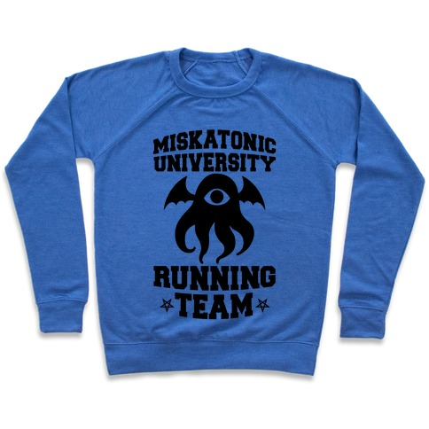 Miskatonic University Running Team Pullover