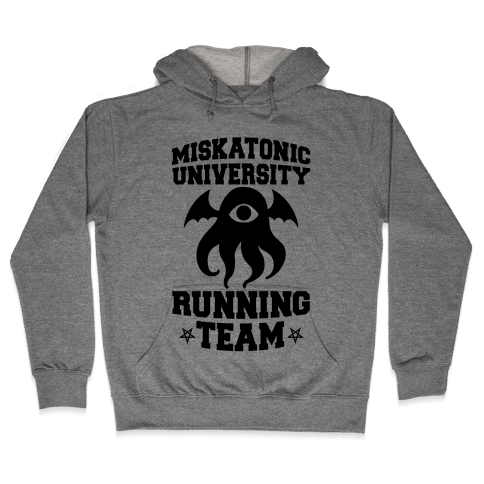 Miskatonic University Running Team Hooded Sweatshirt