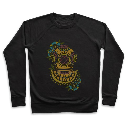 Floral Diving Helmet Pullover