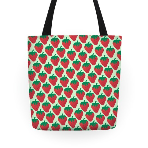 Strawberry Pattern Tote