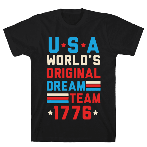 USA World's Original Dream Team 1776 Mens T-Shirt