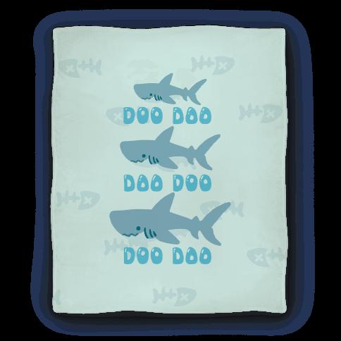 Baby Shark Blanket