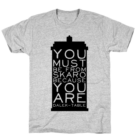 Doctor Pick Up (Tardis) T-Shirt