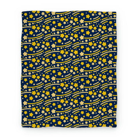 Shooting Stars Pattern Blanket