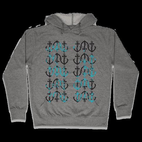 Anchor Hoodie Hooded Sweatshirt