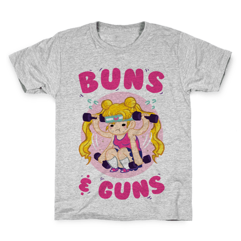 Buns & Guns Kids T-Shirt