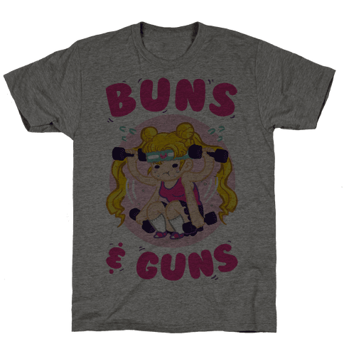 Buns & Guns Mens T-Shirt
