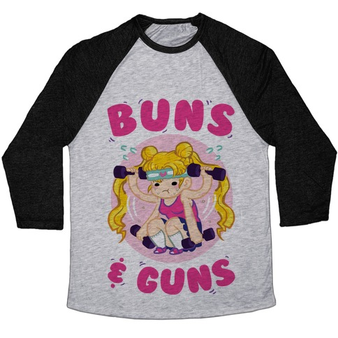 Buns & Guns Baseball Tee