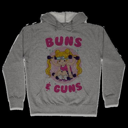 Buns & Guns Hooded Sweatshirt