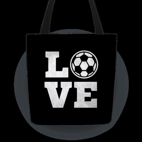 Love Soccer Tote Tote
