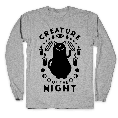 Creature of the Night Long Sleeve T-Shirt