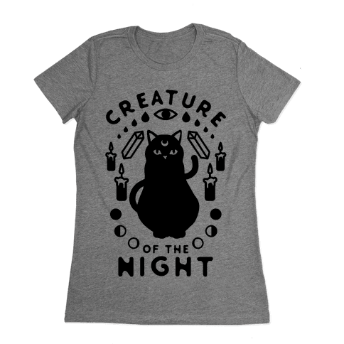 Creature of the Night Womens T-Shirt