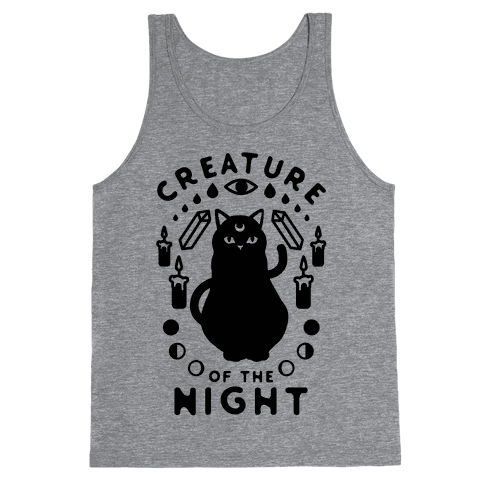 Creature of the Night Tank Top
