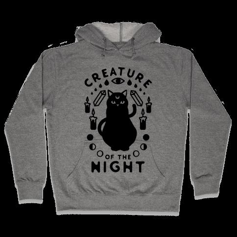 Creature of the Night Hooded Sweatshirt