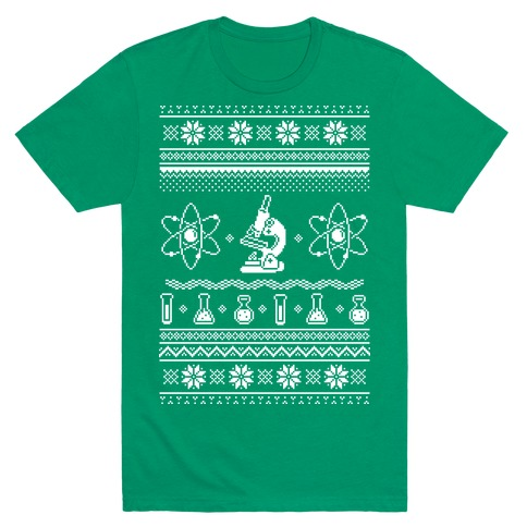 Ugly Science Sweater Mens T-Shirt