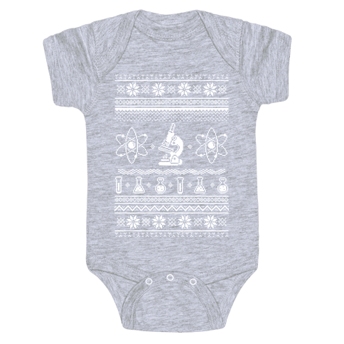 Ugly Science Sweater Baby Onesy