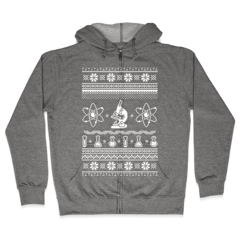Ugly Science Sweater Zip Hoodie