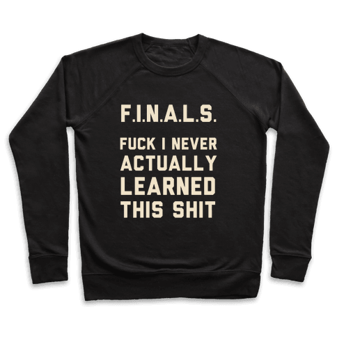 F.I.N.A.L.S. Pullover