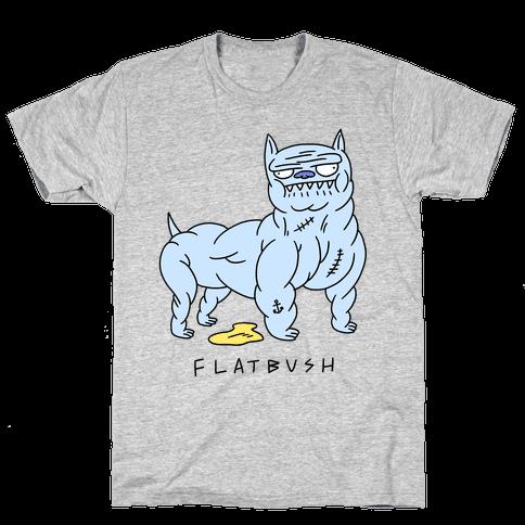 Flatbush Pitbull Mens T-Shirt