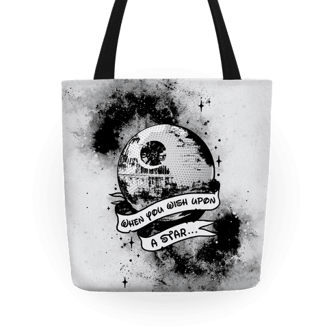 When You Wish Upon A Death Star Tote