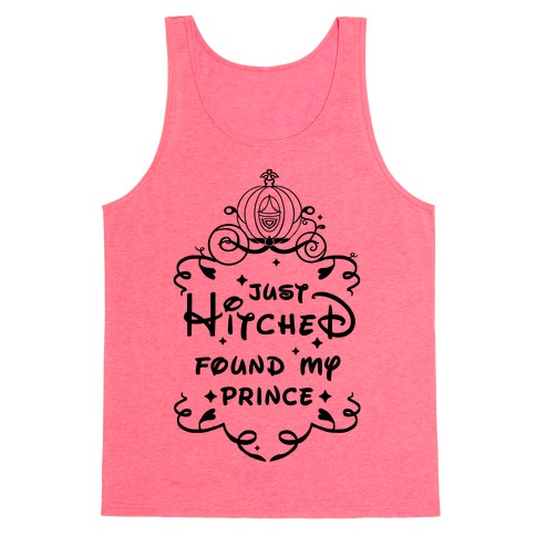 Just Hitched Found My Prince Tank Top