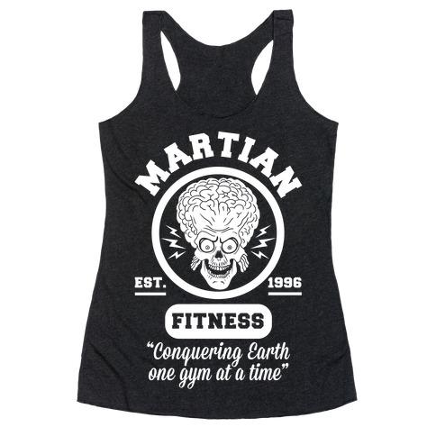Martian Fitness Racerback Tank Top