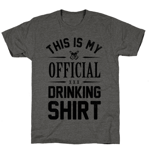 My Official Drinking Shirt Mens T-Shirt