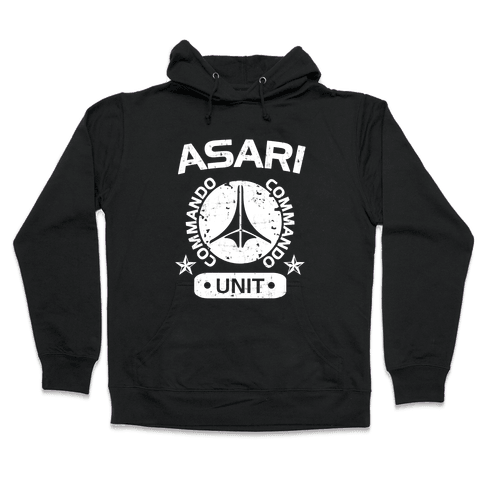 Asari Commando Unit Hooded Sweatshirt