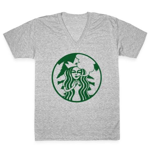Starbaked V-Neck Tee Shirt