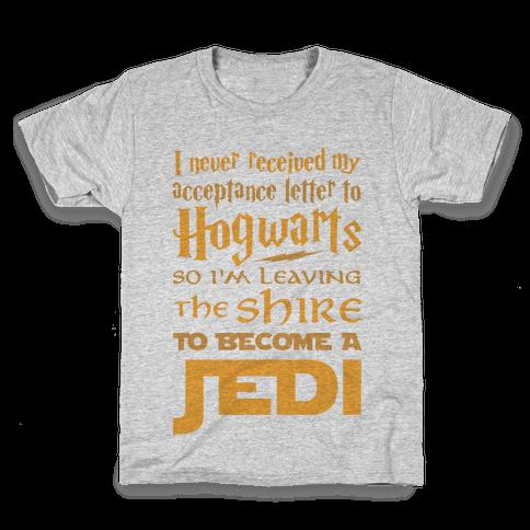 Hogwarts Shire Jedi Kids T-Shirt