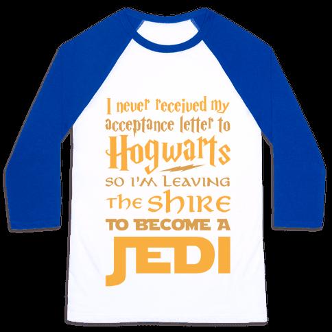 Hogwarts Shire Jedi Baseball Tee