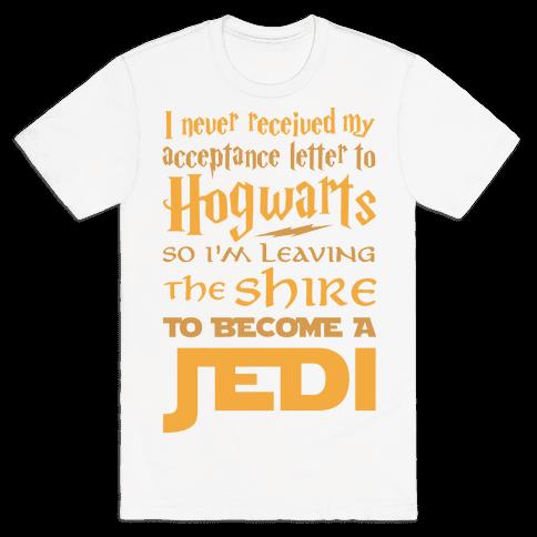 Hogwarts Shire Jedi Mens T-Shirt