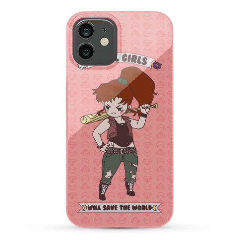 Rebel Girls Will Save The World Jupiter Parody Phone Case