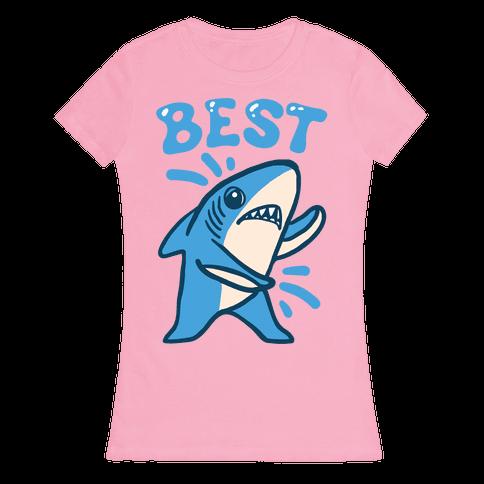 Best Friend Sharks (Part 1) Womens T-Shirt